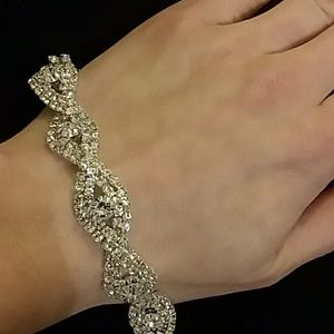 Rhinestone/cz fashion Bracelet Jewelry - Rhinestone or CZ Bracelet . New In package